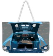 Blue Hot Rod Weekender Tote Bag