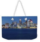 Blue Hour In Detroit Weekender Tote Bag