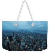 Blue Hour In New York Weekender Tote Bag