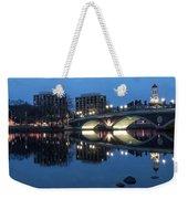 Blue Hour On The Charles Weekender Tote Bag