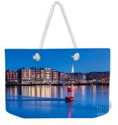 Blue Hour Over Portsmouth New Hampshire Weekender Tote Bag