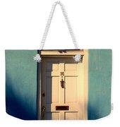 Blue House Door Weekender Tote Bag
