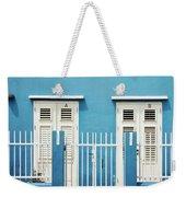 Blue Curacao House Weekender Tote Bag