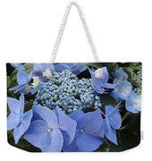 Blue Hydrangea Buds Weekender Tote Bag