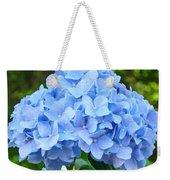 Blue Hydrangea Floral Art Print Hydrangeas Flowers Baslee Troutman Weekender Tote Bag