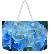 Blue Hydrangea Floral Flowers Art Prints Baslee Troutman Weekender Tote Bag
