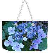 Blue Hydrangea Flowers Floral Art Baslee Troutman Weekender Tote Bag