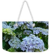 Blue Hydrangeas Art Prints Hydrangea Flowers Giclee Baslee Troutman Weekender Tote Bag