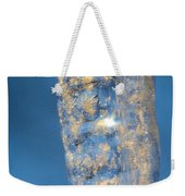 Blue Ice 5 Weekender Tote Bag