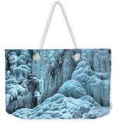 Blue Ice Flows At Tangle Falls Weekender Tote Bag
