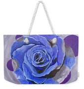 Blue Ice Weekender Tote Bag
