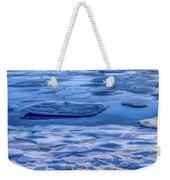 Blue Ice Weekender Tote Bag