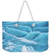Blue Ice Svinafellsjokull Glacier Iceland Weekender Tote Bag