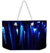 Blue Icicles Weekender Tote Bag