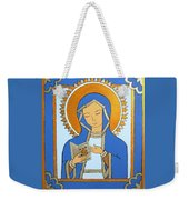 Blue Icon Weekender Tote Bag