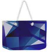 Blue In Blue Weekender Tote Bag