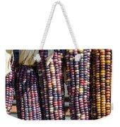 Blue Indian Corn Weekender Tote Bag