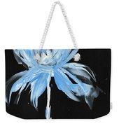 Blue Iris Bulb Weekender Tote Bag