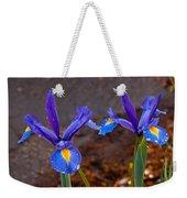 Blue Iris Germanica Weekender Tote Bag