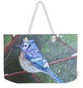 Blue Jay 2 Weekender Tote Bag