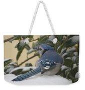Blue Jay Beauty Weekender Tote Bag