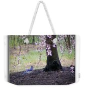 Blue Jay Weekender Tote Bag