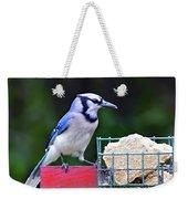 Blue Jay - Cyanocitta Cristata  Weekender Tote Bag
