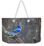 Blue Jay Song Weekender Tote Bag