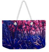 Blue Jungle Weekender Tote Bag