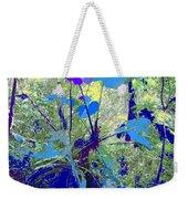 Blue Jungle Weekender Tote Bag