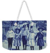 Blue Kids Weekender Tote Bag