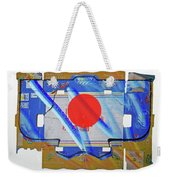 Blue Kimono Weekender Tote Bag