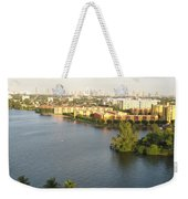 Blue Lagoon Miami Weekender Tote Bag