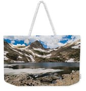 Blue Lake Colorado Weekender Tote Bag