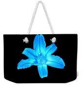 Blue Lily Weekender Tote Bag