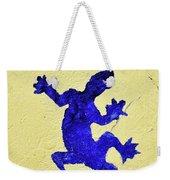 Blue Lizard Weekender Tote Bag