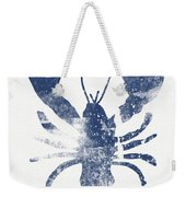 Blue Lobster- Art By Linda Woods Weekender Tote Bag