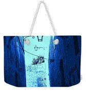 Blue Maltese Arch Weekender Tote Bag