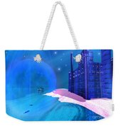 Blue Mansions Weekender Tote Bag