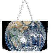 Blue Marble 2012 - Eastern Hemisphere Of Earth Weekender Tote Bag