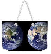 Blue Marble Composite Images Generated By Nasa Weekender Tote Bag