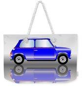 Blue Mini Car Weekender Tote Bag