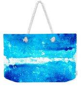 Blue Modern Art - Two Pools - Sharon Cummings Weekender Tote Bag