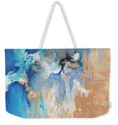Blue Monday Weekender Tote Bag