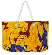 Blue Monkeys No. 45 Weekender Tote Bag