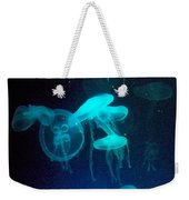 Blue Monsters Weekender Tote Bag