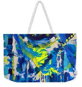 Blue Moon City Weekender Tote Bag