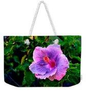 Blue Moon Hibiscus Weekender Tote Bag