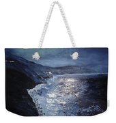 Blue Moon Over Big Sur Weekender Tote Bag