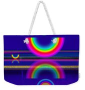 Blue Moon Reflections Weekender Tote Bag